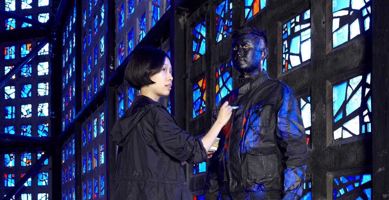 LIU BOLIN   Hiding in Germany – Berlin Kaiser Wilhelm Memorial Church